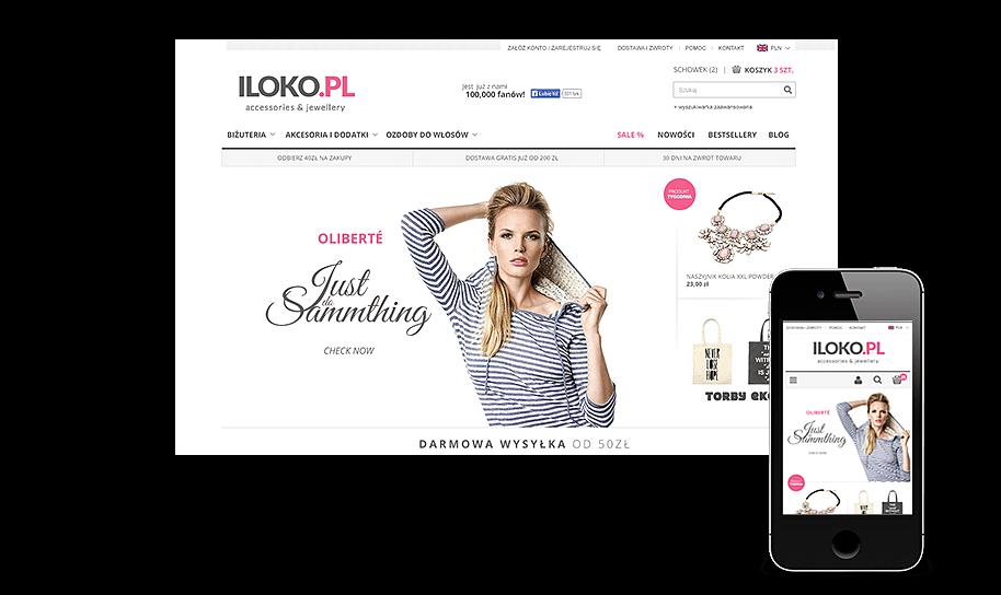 Sklep internetowy w IAI-Shop.com: iloko.pl