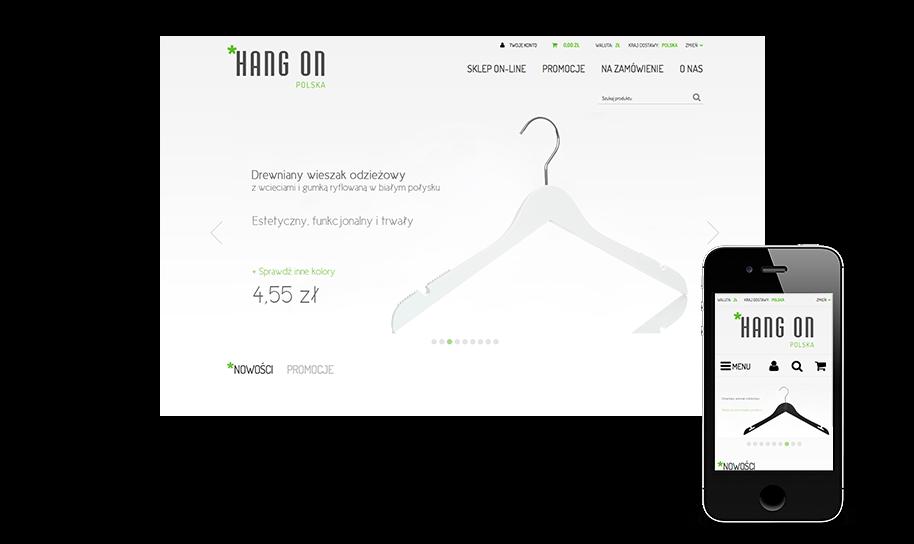 Sklep internetowy w IAI-Shop.com: hang-on.pl