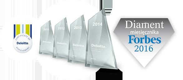 Nagrody Deloitte dla IAI S.A.