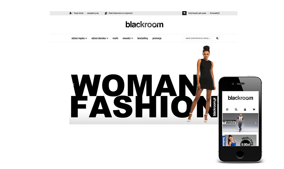 Sklep internetowy w IAI-Shop.com: blackroom.pl