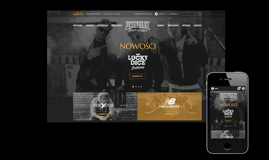 Sklep internetowy w IAI-Shop.com: unhuman.pl